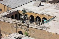 Deposito della cittadella del salahaldin nell'egitto Fotografia Stock