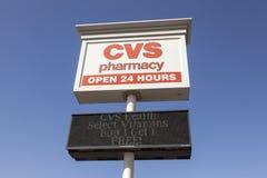 Deposito della farmacia di CVS fotografie stock