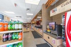 Deposito della stazione di servizio di Wawa nel New Jersey immagini stock libere da diritti