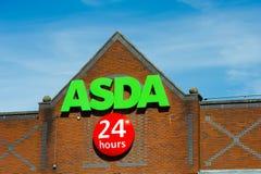 Deposito di Asda a Manchester, Inghilterra Fotografie Stock