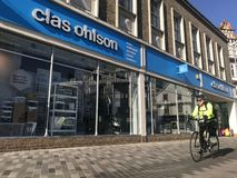 Deposito di Clas Ohlson fotografia stock libera da diritti