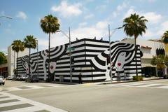 Deposito di compera su Beverly Drive in Beverly Hills Immagine Stock Libera da Diritti