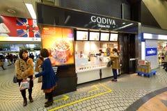 Deposito di Godiva fotografie stock libere da diritti