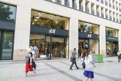 Deposito di HM a Parigi Fotografie Stock Libere da Diritti