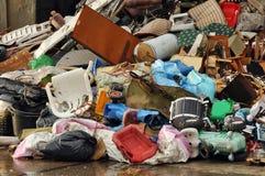 Deposito di immondizia Fotografia Stock Libera da Diritti