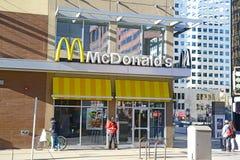Deposito di McDonald's a Denver, Colorado Fotografia Stock Libera da Diritti
