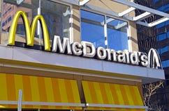 Deposito di McDonald's a Denver, Colorado Immagine Stock