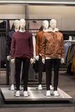 Deposito di modo del ` s degli uomini, raccolta dell'abbigliamento casuale Immagini Stock