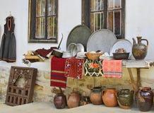 Deposito di oggetti d'antiquariato Fotografia Stock