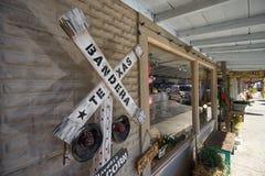 Deposito di regalo di Bandera il Texas Fotografia Stock Libera da Diritti