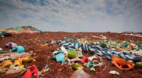 Deposito di rifiuti Fotografia Stock