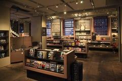 Deposito di San Francisco Alcatraz Gift Shop Book Fotografia Stock