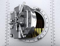 Deposito di sicurezza aperto Fotografia Stock