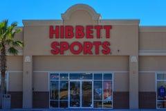 Deposito di sport di Hibbett Immagine Stock
