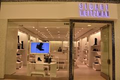 Deposito di Stuart Weitzman al centro commerciale dell'America a Bloomington, Minnesota Fotografie Stock