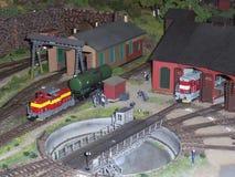 Deposito di treno del modello Fotografia Stock