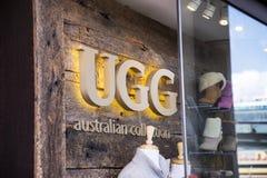 Deposito di Ugg Fotografia Stock Libera da Diritti