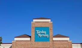 Deposito domestico della decorazione di martedì mattina immagine stock