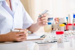 Deposito farmaceutico Immagini Stock