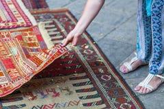 Deposito georgiano del tappeto fotografia stock libera da diritti