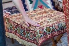Deposito georgiano del tappeto fotografia stock