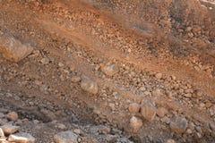 deposits översvämmar unconsolidated Arkivbilder