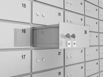 Deposits Bank Safe Stock Image