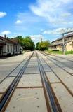 Depot außer Bahnen Lizenzfreie Stockbilder