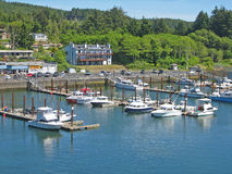 Depot Bay Oregon. Stock Photos