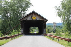 Depot Covered Bridge Royalty Free Stock Photography