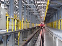 Depot der Elektrizitätsserie. Lizenzfreie Stockfotos