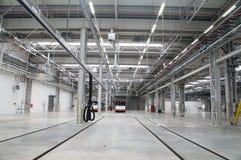 Depot für Busse Lizenzfreie Stockfotografie
