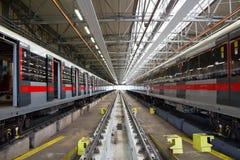 Depot-Prag-Metro Lizenzfreies Stockbild