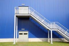 Depotfabrik Stockbild