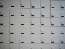 Depotverwahrung Lockboxes Lizenzfreies Stockbild