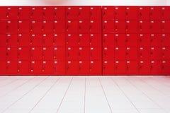Depozytowi szafek pudełka Obraz Stock