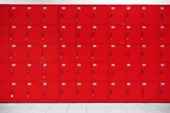 Depozytowi szafek pudełka Fotografia Stock