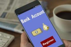 Depozytu, savings bank/ Obraz Royalty Free