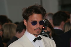 depp johnny royaltyfria bilder