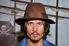 depp johnny arkivbild