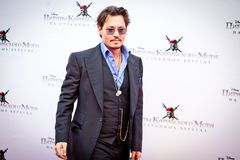 depp johnny arkivbilder