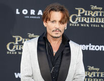 depp johnny arkivfoto