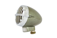 Deppighetharpa och radiomikrofon Fotografering för Bildbyråer