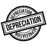 Depreciation rubber stamp Stock Photography