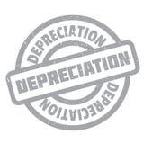 Depreciation rubber stamp Stock Photo