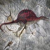 Depredador prehistórico Imagen de archivo libre de regalías