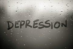 depresión imagenes de archivo