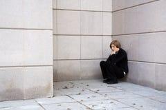 Depresión. Fotografía de archivo