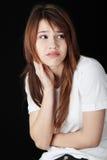 Depresión del adolescente Foto de archivo