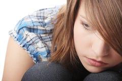 Depresión del adolescente Imagen de archivo libre de regalías